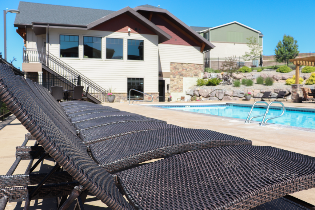 Pool at Seasons of Traverse Mountain
